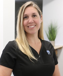 Registered dental hygienist Amanda
