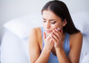 tooth pain from exercising